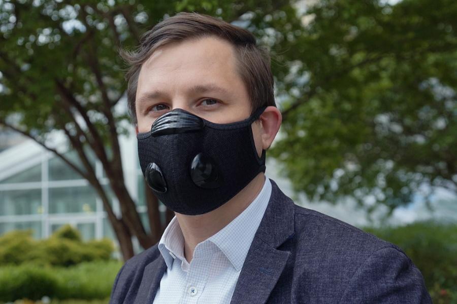 Breeze Face Mask kühlt das Gesicht und schützt gleichzeitig Ihre Atemwege