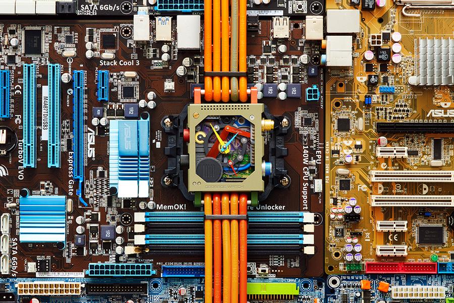 Garbage Watch von Vollebak Computerteilen