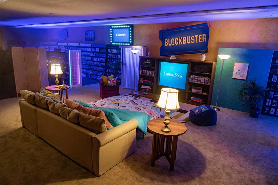 Der letzte Blockbuster der Welt kann bei Airbnb gemietet werden