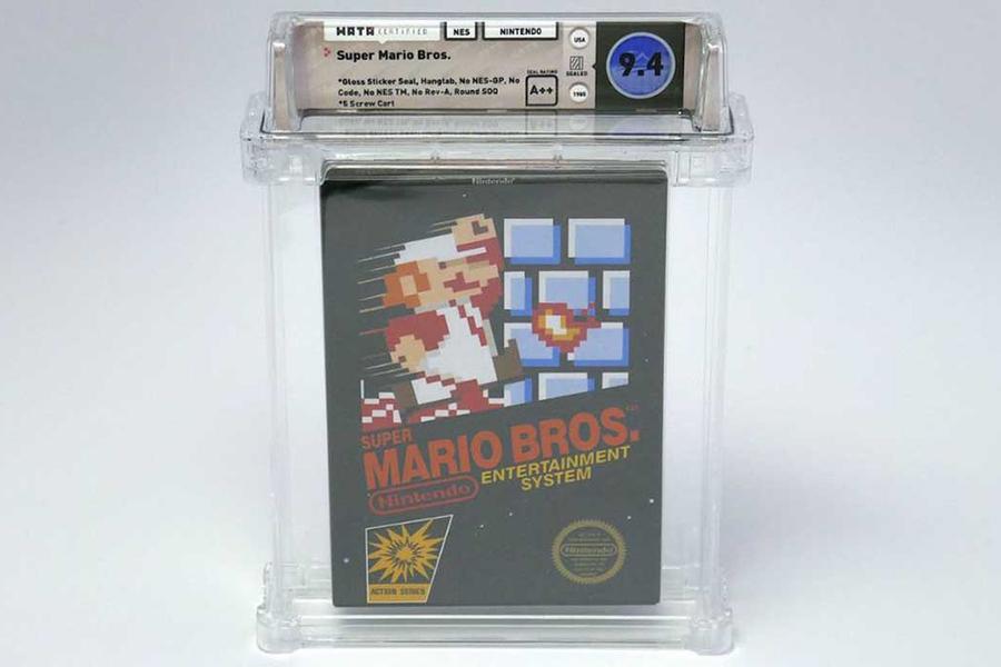 Super Mario Bros Testkopie verkauft für 140.000 US-Dollar