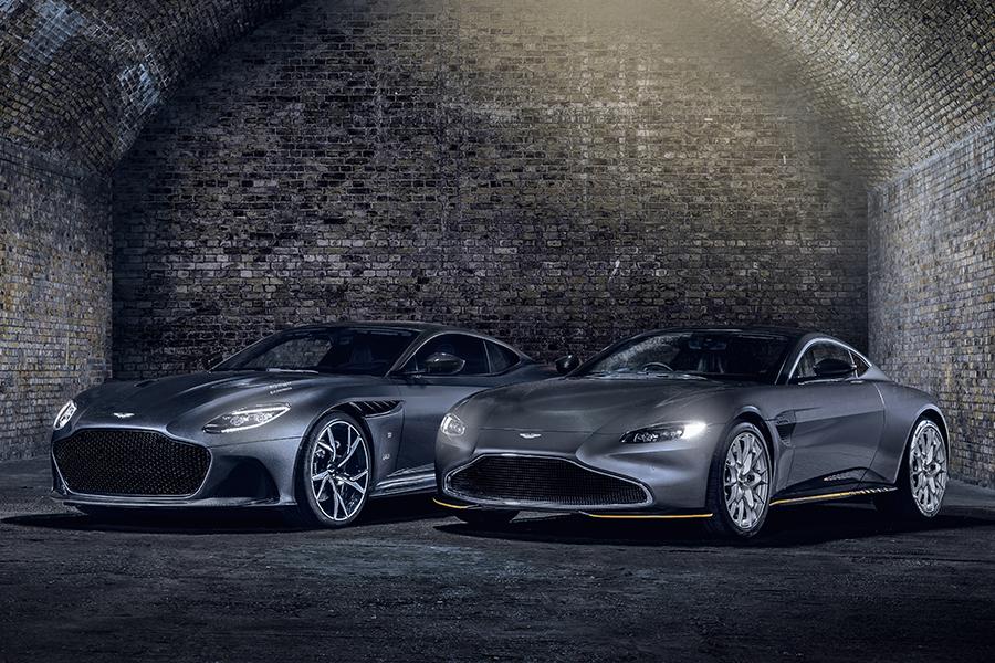 Aston Martins 007 Edition Vantage und Superleggera sind die ultimativen Bond Cars