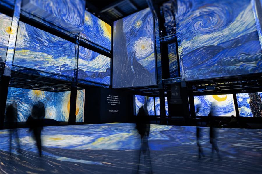 Sydney zeigt eine riesige interaktive Van-Gogh-Ausstellung