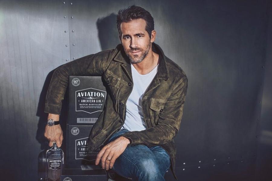 Ryan Reynolds verkauft Aviation American Gin an Diageo