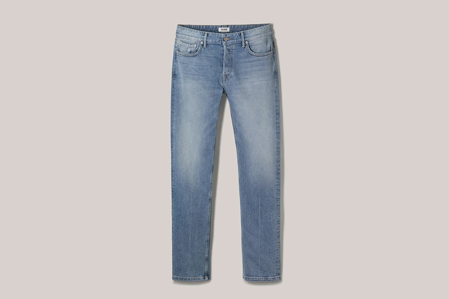 Buck Masons neue Light Denim Wash Line Hose