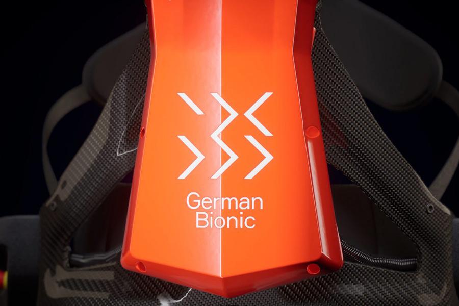 Deutsche Bionic Crayx Servomotoren der 4. Generation