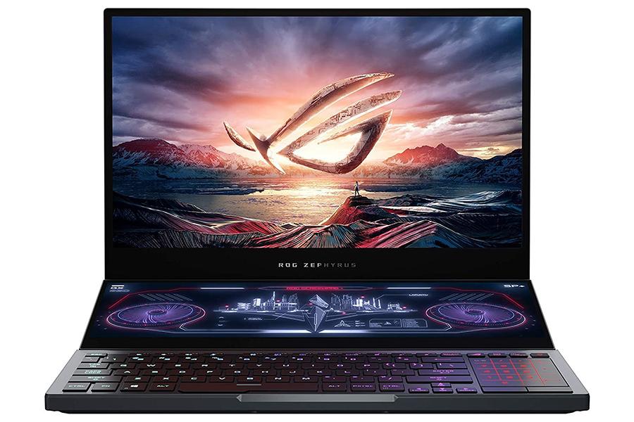 Holen Sie sich 2 in 1 mit dem Dual-Screen-Laptop ASUS ROG Zephyrus Duo 15