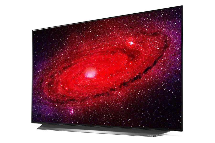 LG 48-Zoll-CX 4K OLED-TV-Seitenansicht