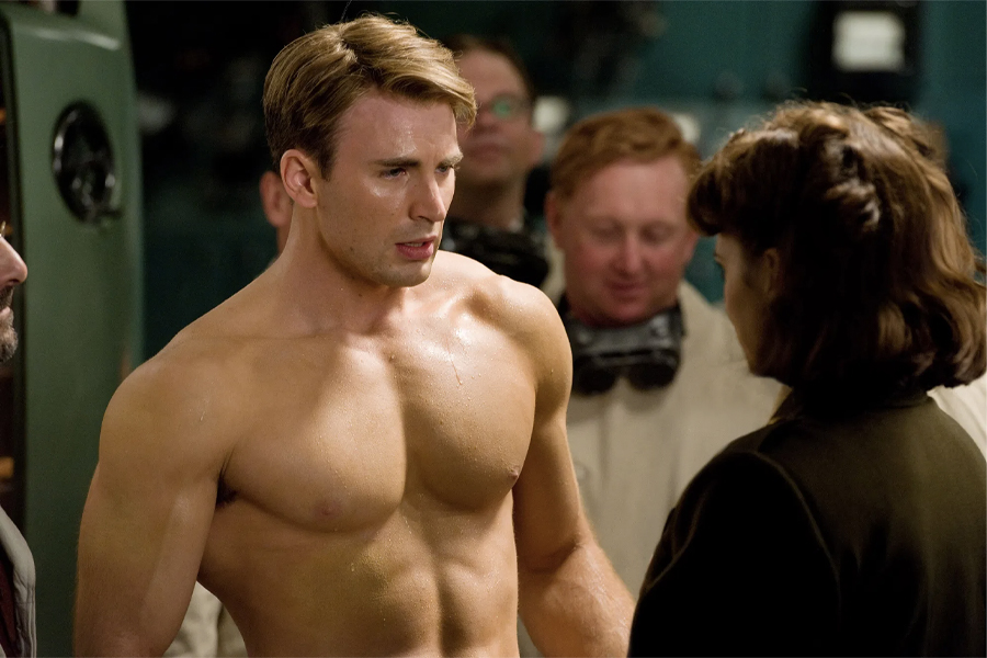 "Chris Evans '""Captain America"" ​​Workout & Diet Plan"