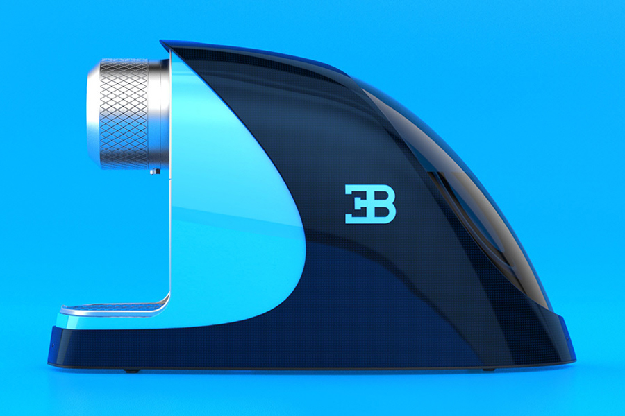 Bugatti Etiron Espressomaschine Seitenansicht