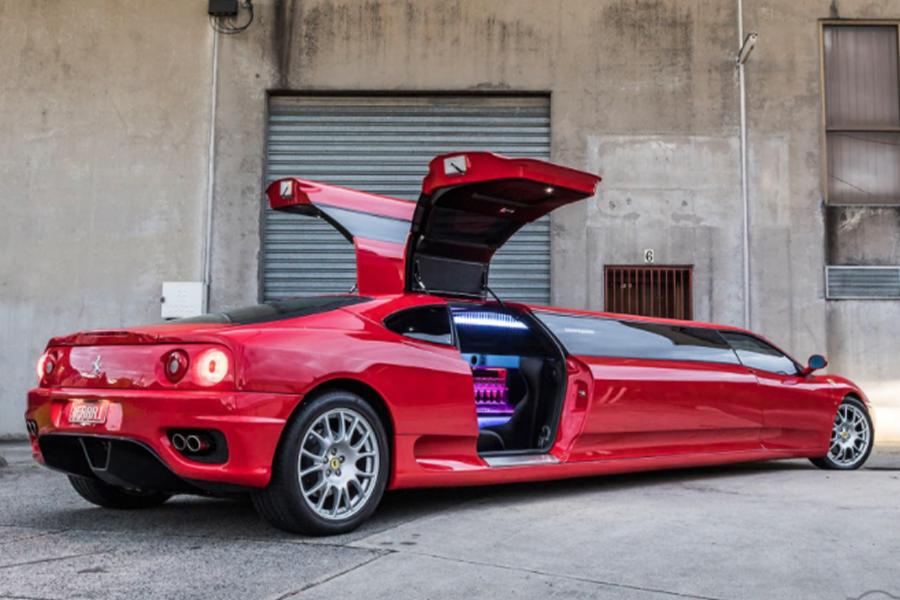 2003 Ferrari 360 Modena Limousine 4