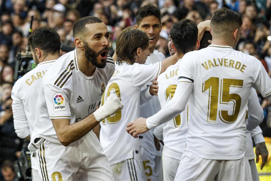 Wertvollste Sportmannschaften für 2020 - echte Madrid