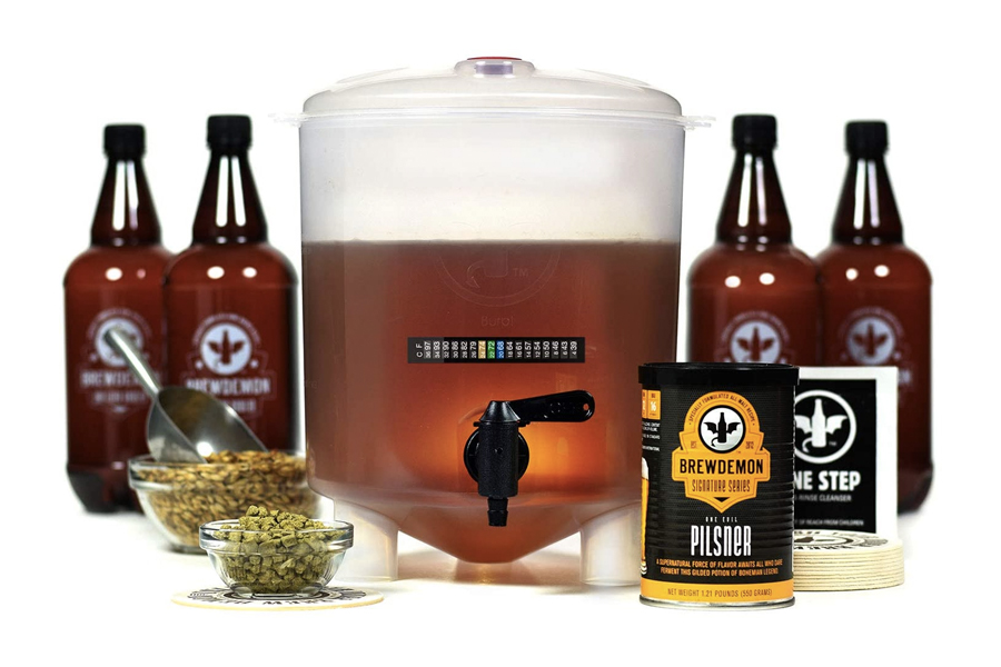 Beste Home Brew Kits - BrewDemon Craft Bierbrauen Kit Pro