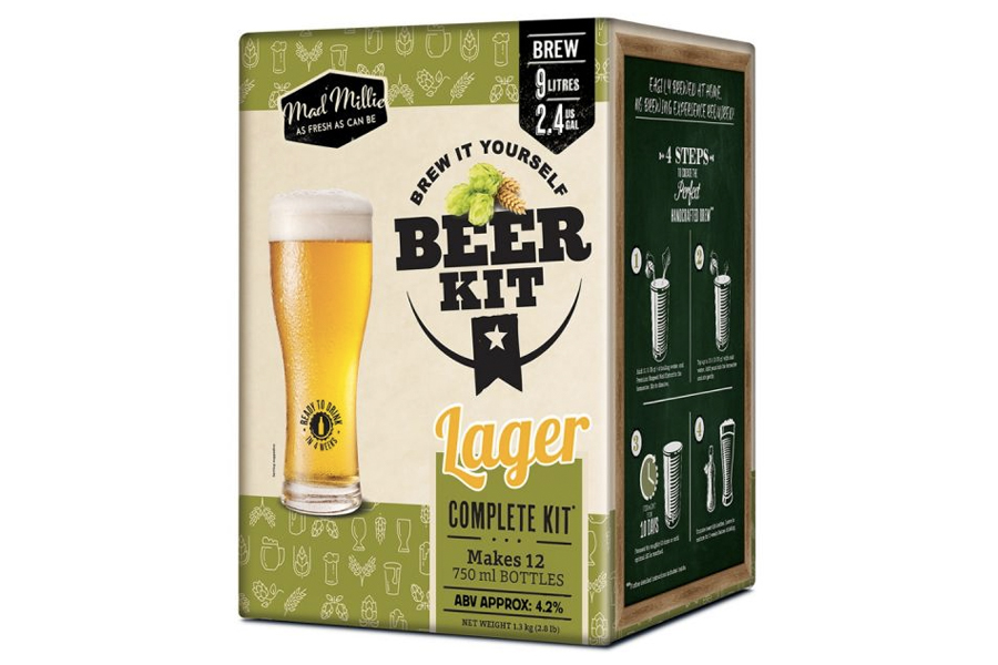 Beste Home Brew Kits - Mad Millie Brew It Yourself Lager Kit