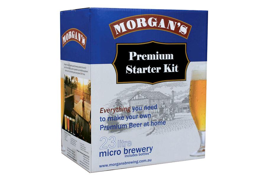 Best Home Brew Kits - Morgans Premium Starter Kit