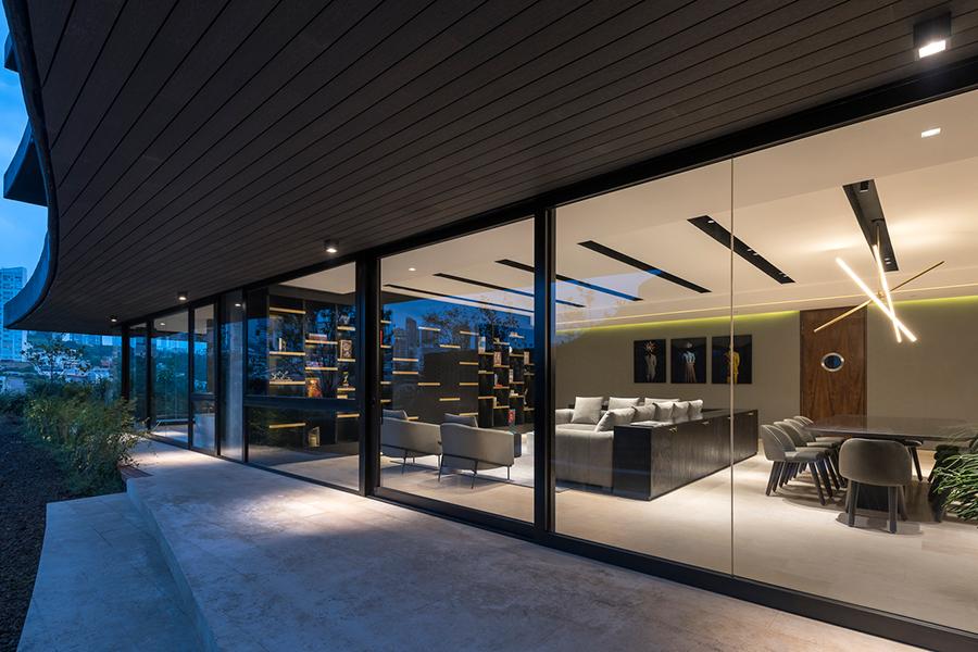 Canto House Studio 91 Fensterglas