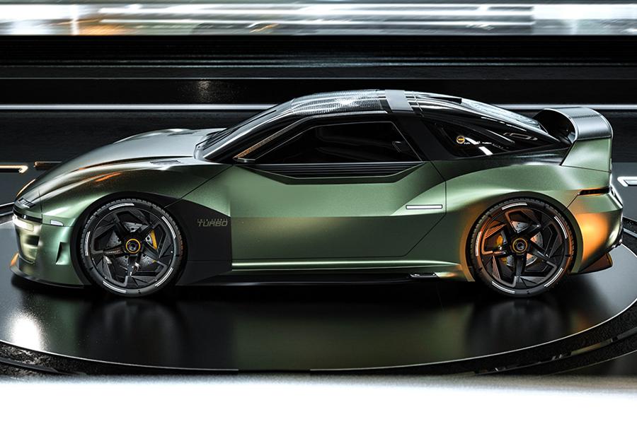 Mitsubshi 4000GT Fan Concept Fahrzeug