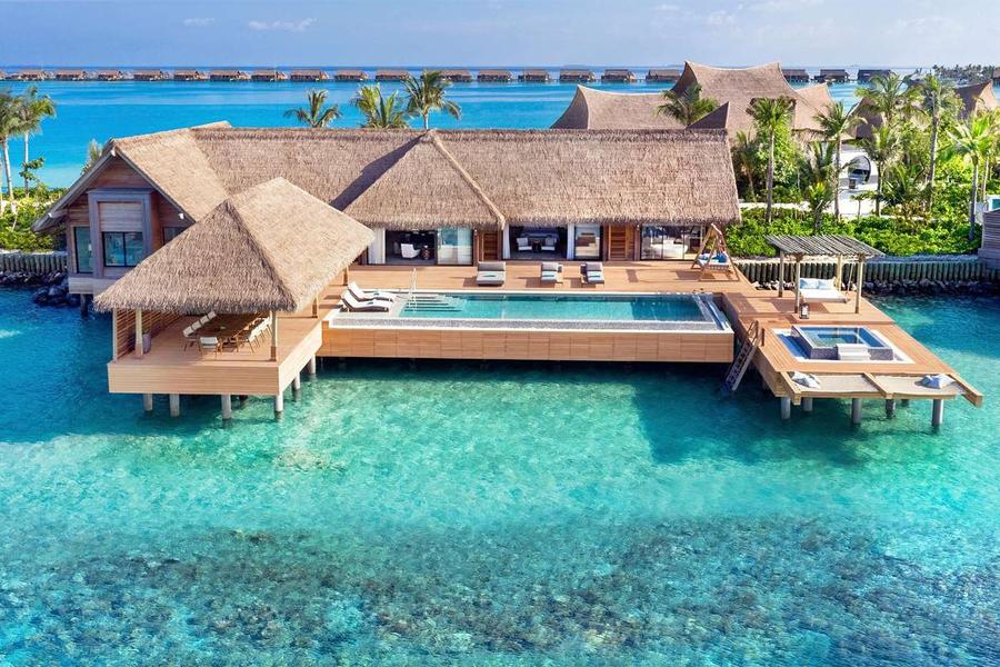 World's Best Hotels 2020 - Waldorf Astoria Maldives Ithaafushi