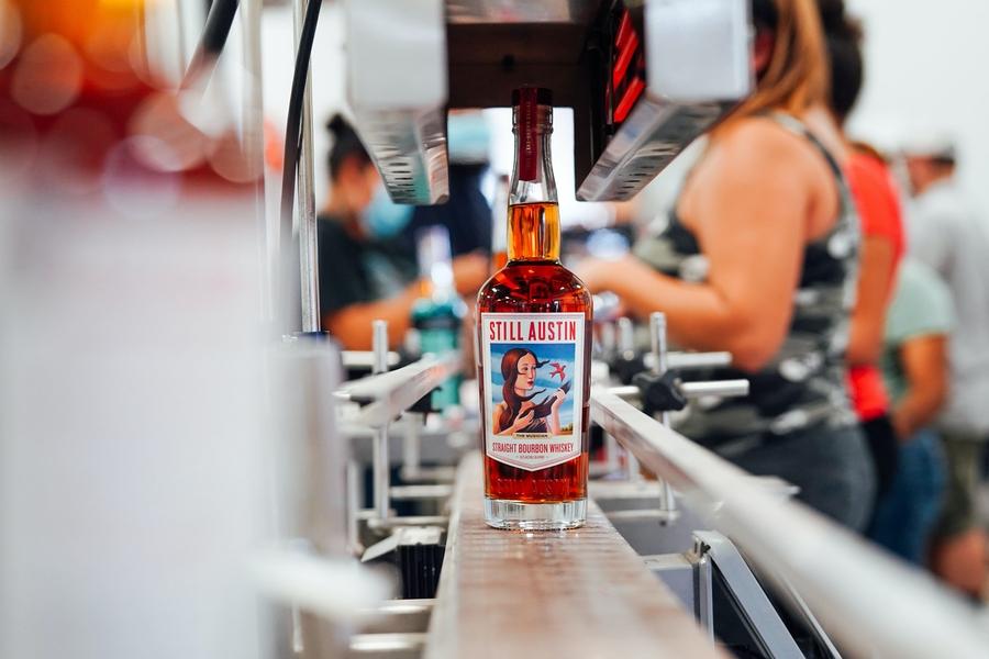 Noch Austin Straight Bourbon Whisky