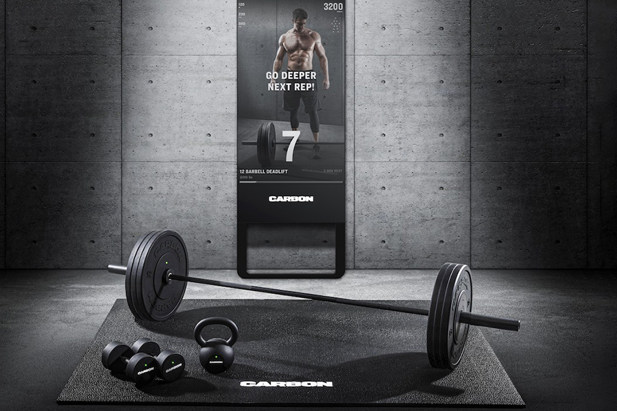 Carbon Trainer is the New Fitness Mirror Designed for Home Strength Training