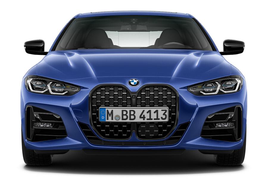 BMW 4er Coupé vorne