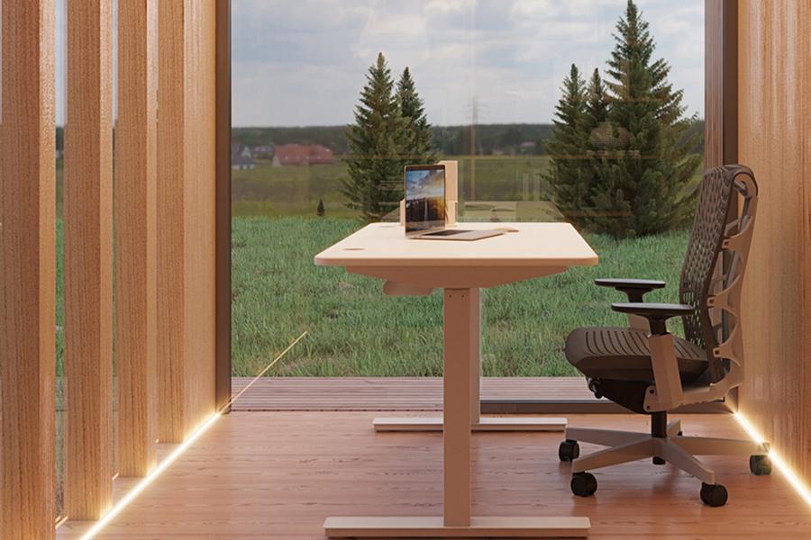 Zen Prefab Work Pod Tisch