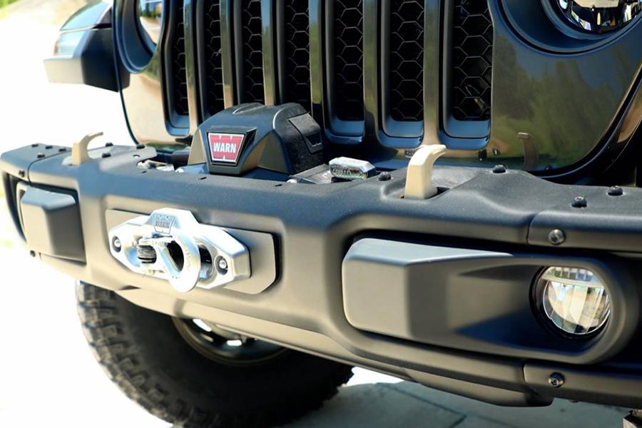 Jeep® stellt neue 6,4-Liter-V-8 Wrangler Rubicon 392 Concept-Front vor