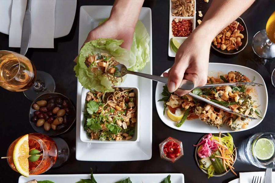 Yulli vegetarisches Restaurant