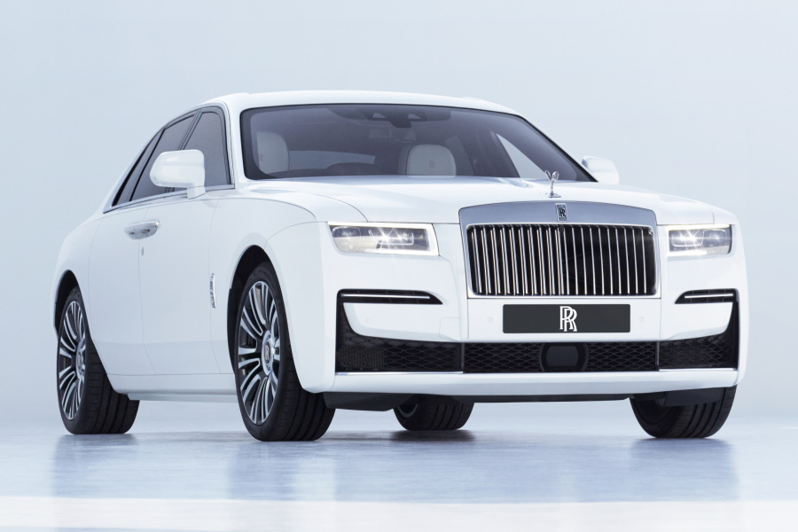 Roll-Royce hat The Ghost für eine neue Luxusrasse komplett neu gestaltet