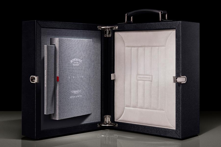 Aston Martin x Bowmore Whisky Box