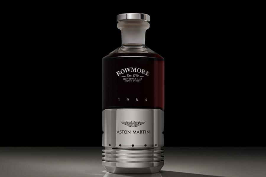 Aston Martin geht eine Partnerschaft mit Bowmore ein, um einen von Bond inspirierten Whisky im Wert von 66.000 US-Dollar zu erhalten