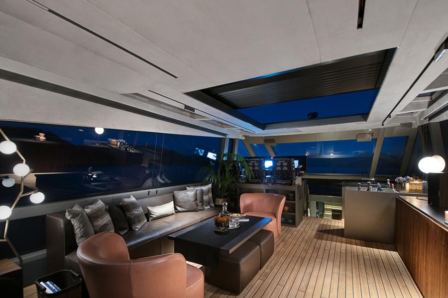 Mazu 82 Superyacht Loungebereich