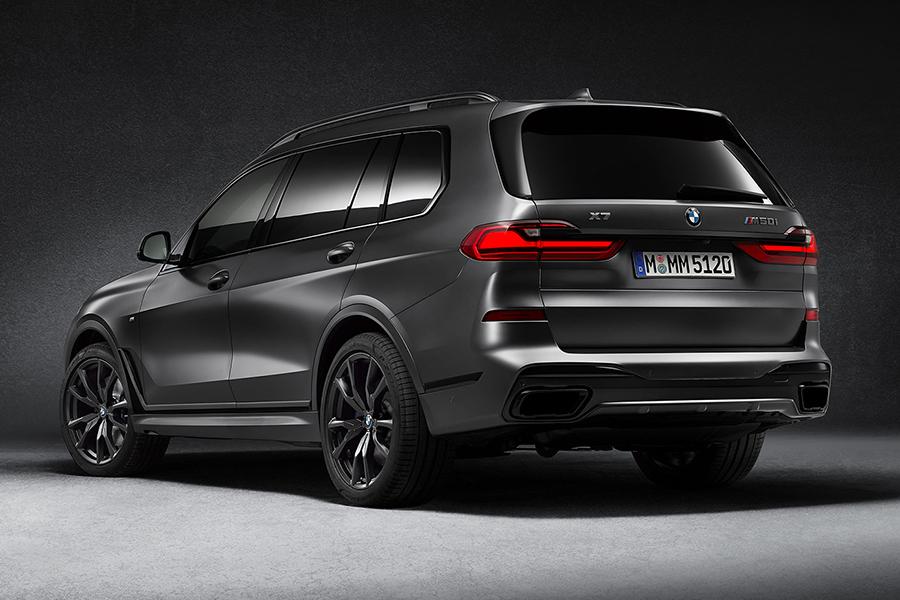 BMW X7 Dark Shadow Rückansicht