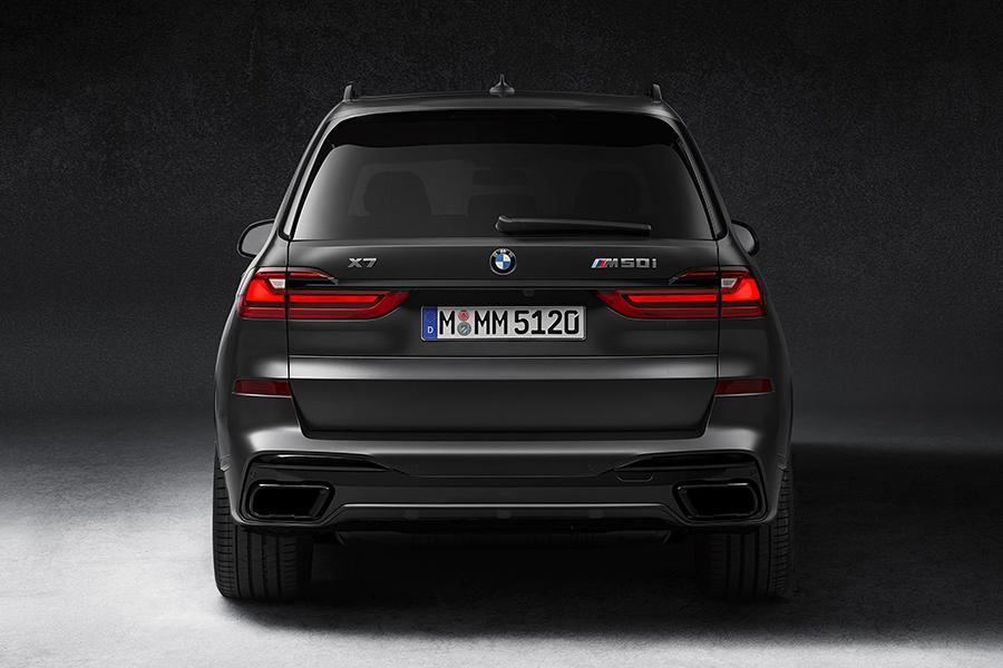 BMW X7 Dark Shadow zurück