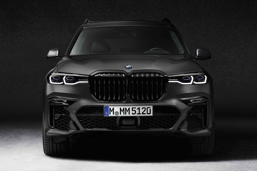 BMW X7 Dark Shadow vorne