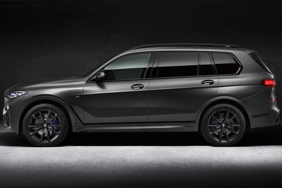 BMW X7 Dark Shadow Seitenansicht