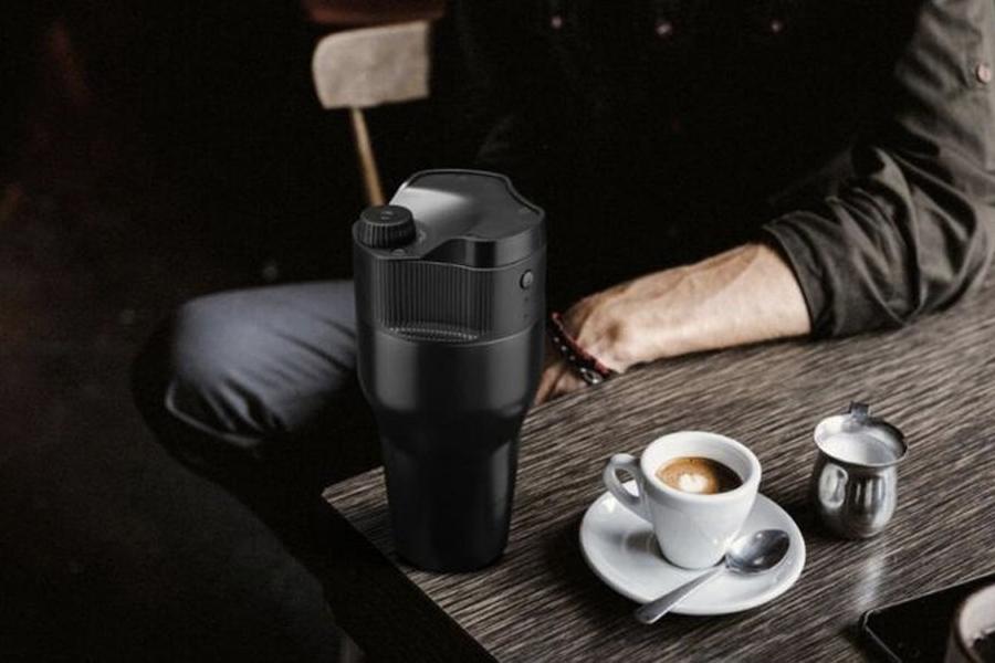 Kopipresso kocht überall und jederzeit Kaffee