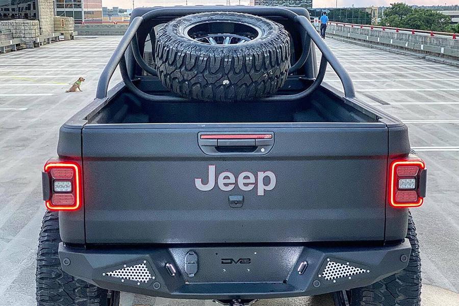 Jeep Gladiator Rubicon Rückenfach