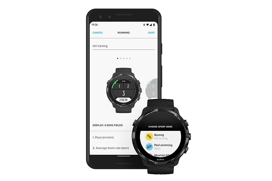 Suunto 7 Upgrades mit App