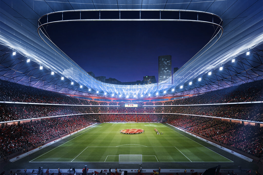 Xi'an Internationales Fußballzentrum 4