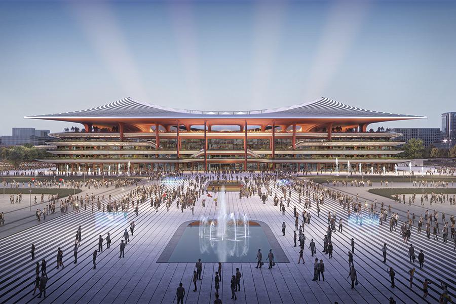 Xi'an Internationales Fußballzentrum 1
