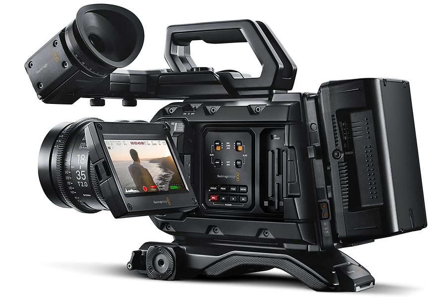 Blackmagic Design URSA Mini Pro 4.6K Kamera mit EF-Halterung