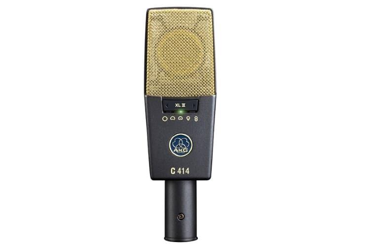 akg pro audio c414 xlii vokalkondensatormikrofon