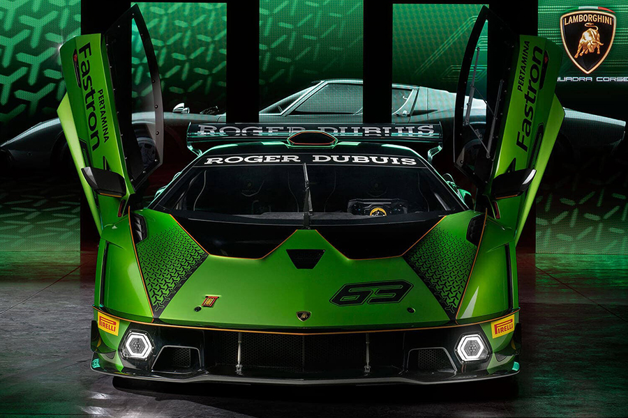Lamborghini Essenza SCV12 beide Seitentüren offen