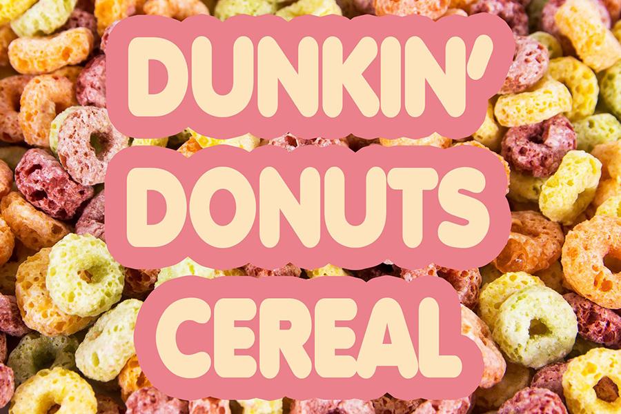 Dunkin Donuts Müsli