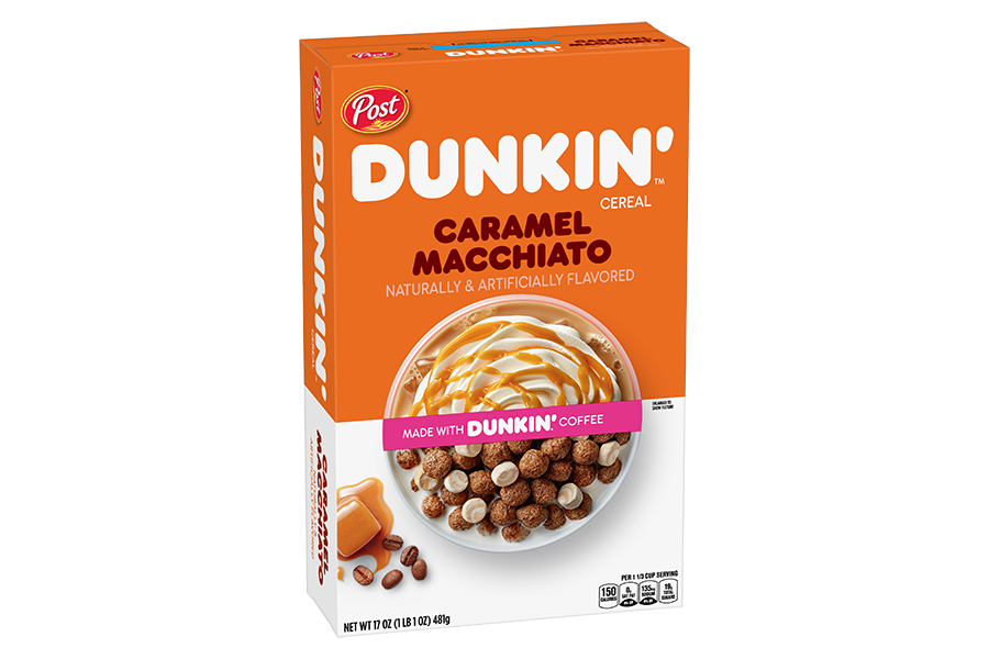 Dunkin Donuts Müsli Karamell Macchiato