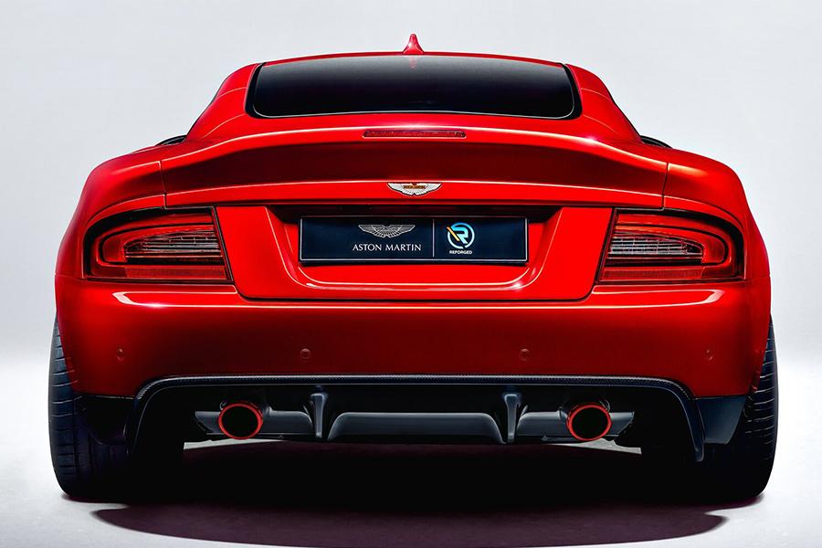 Aston Martin Callum zurück