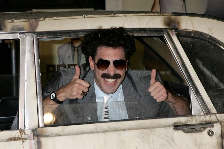 Borat 2 hat die Dreharbeiten offiziell beendet, sehr schön!