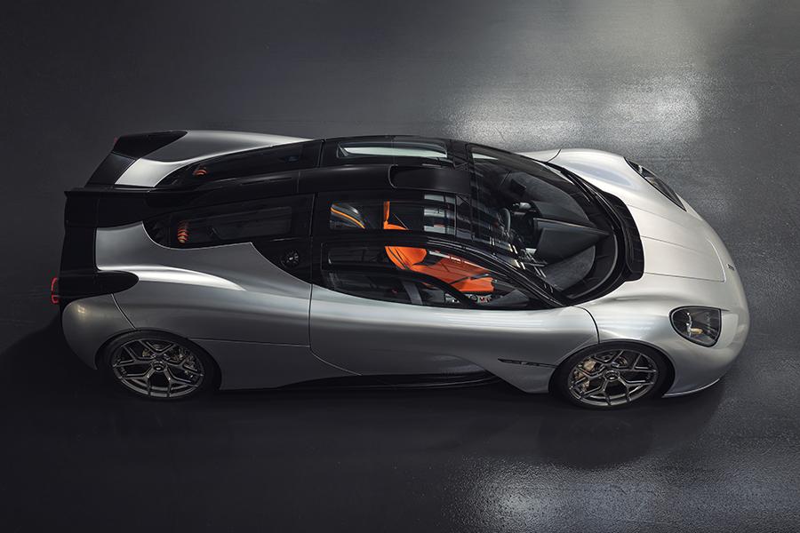 Der Designer des McLaren F1 präsentiert die T.50-Draufsicht