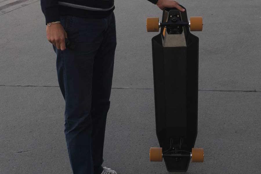 Elektrisches Longboard von Nextboard