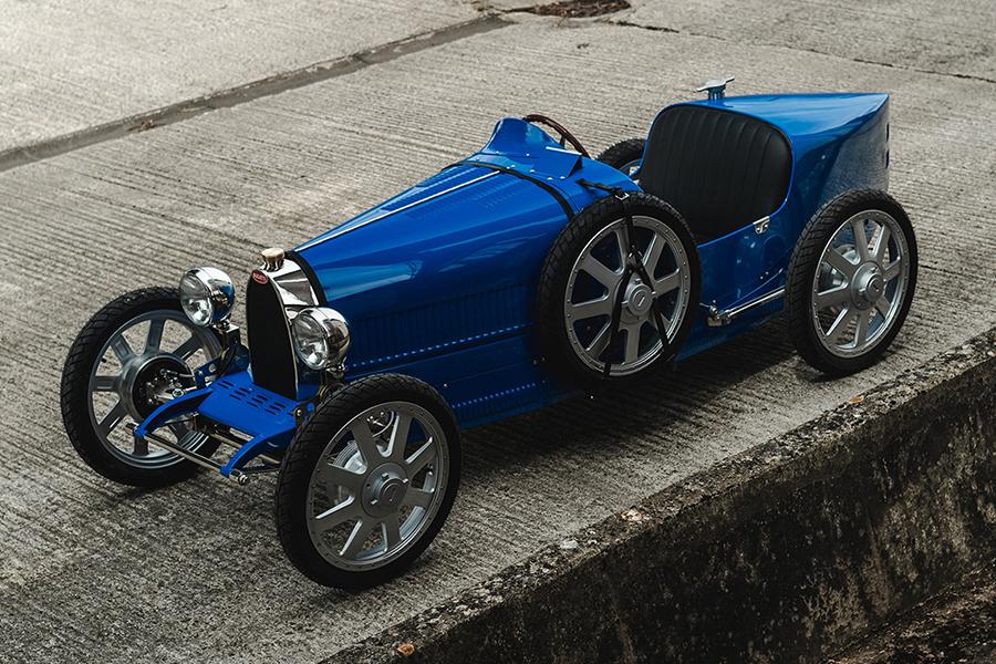 $ 48k Bugatti Toy Car Seitenansicht